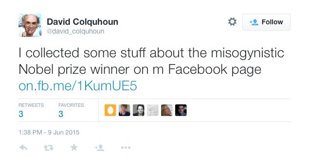 Misogynistic Hunt Colquhoun J