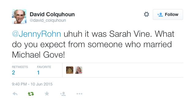 Sarah Vine J